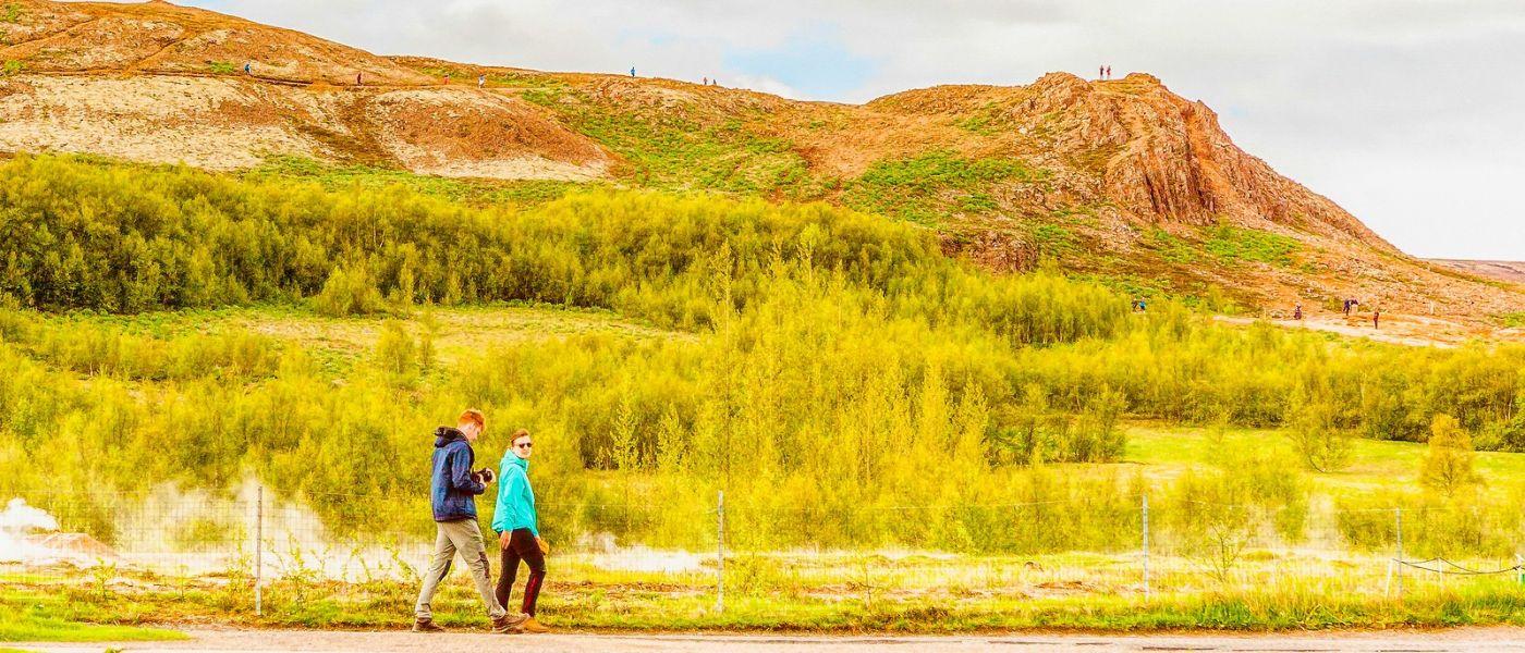 冰岛盖西尔(Geysir),围观热喷泉_图1-15