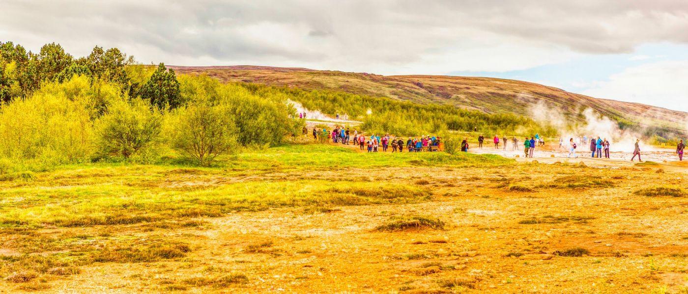 冰岛盖西尔(Geysir),围观热喷泉_图1-16