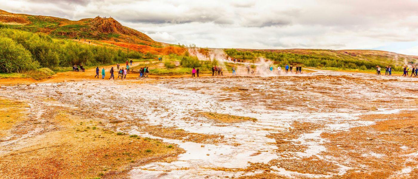 冰岛盖西尔(Geysir),围观热喷泉_图1-1