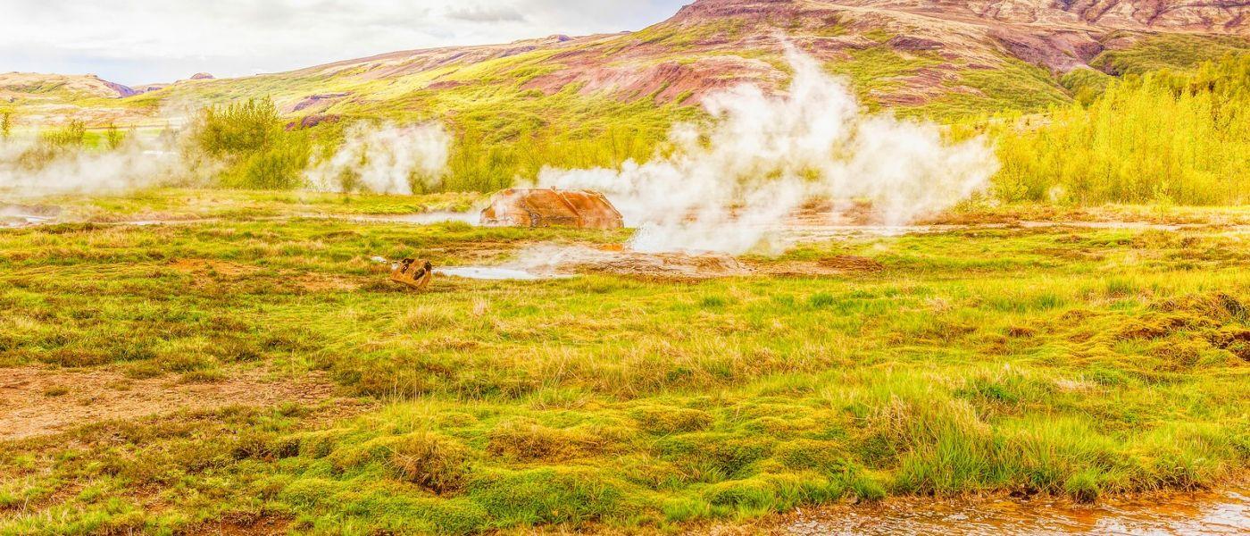 冰岛盖西尔(Geysir),围观热喷泉_图1-4