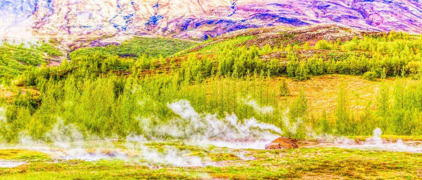 冰岛盖西尔(Geysir),围观热喷泉_图1-7