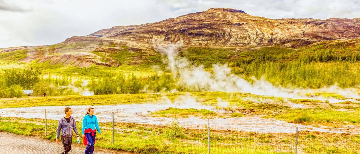 冰岛盖西尔(Geysir),围观热喷泉_图1-12
