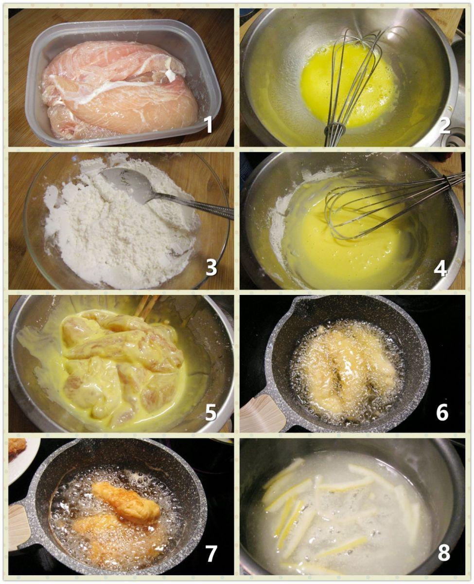 柠檬汁鸡条_图1-2