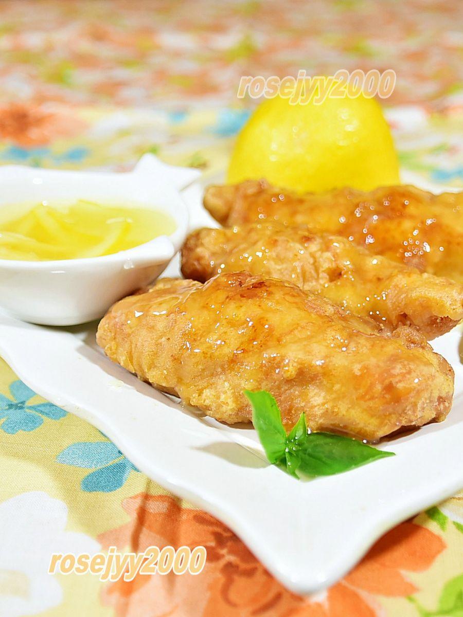 柠檬汁鸡条_图1-3