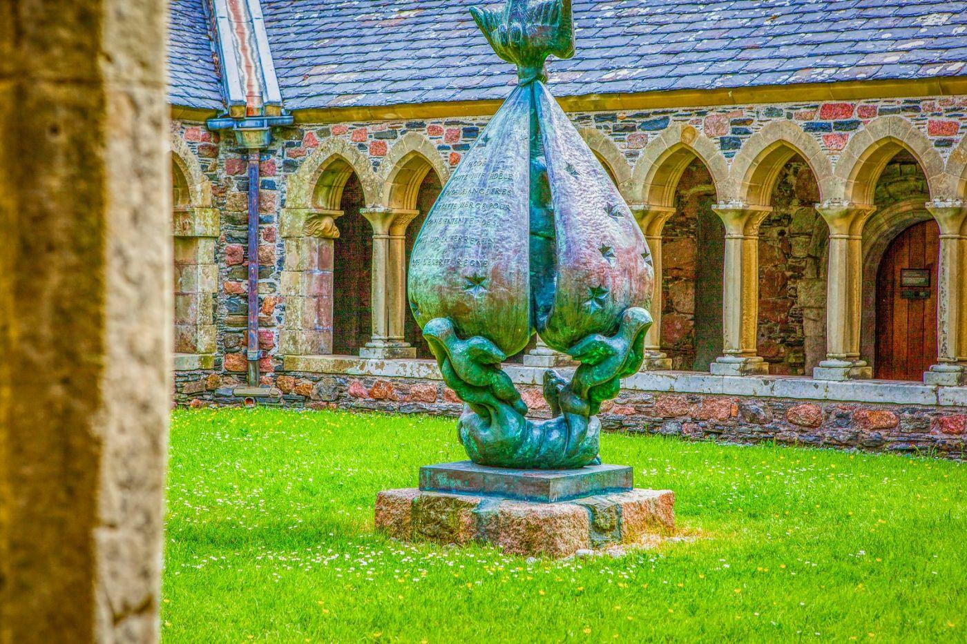 苏格兰圣奥兰教堂(St Oran's Chapel),小教堂大视野_图1-38