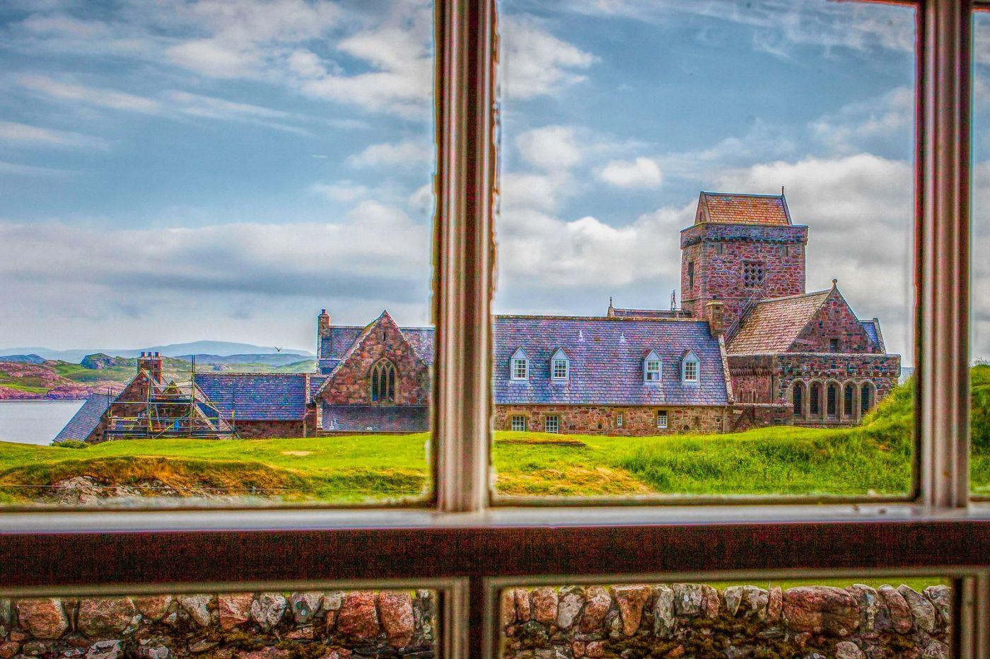 苏格兰圣奥兰教堂(St Oran's Chapel),小教堂大视野_图1-34