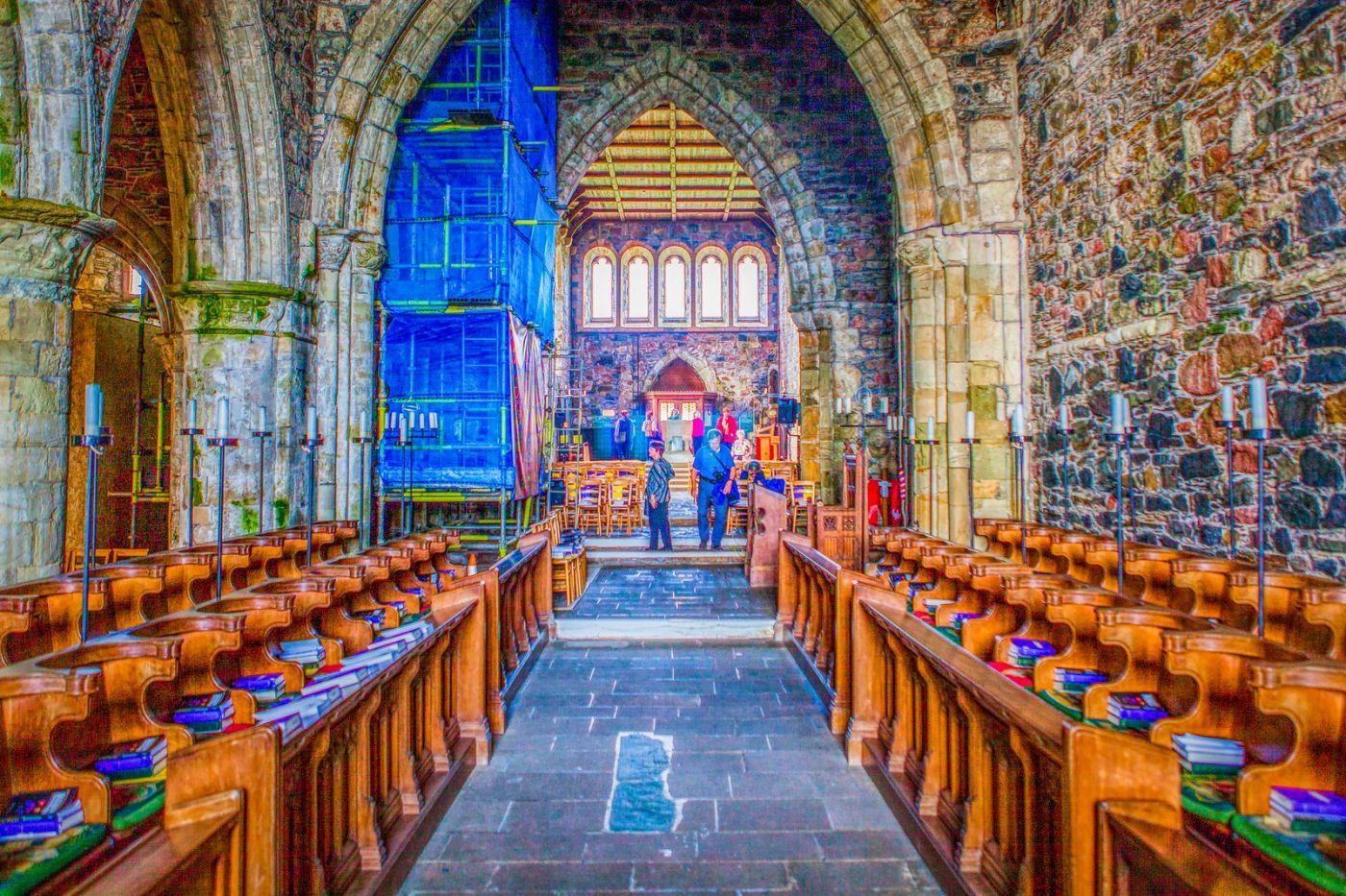 苏格兰圣奥兰教堂(St Oran's Chapel),小教堂大视野_图1-33