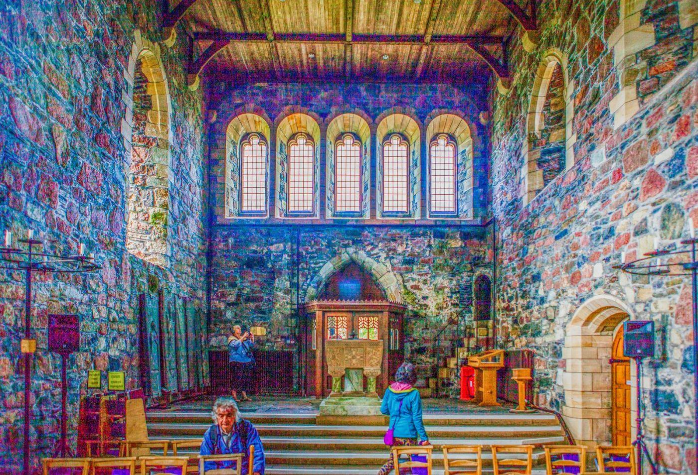 苏格兰圣奥兰教堂(St Oran's Chapel),小教堂大视野_图1-32
