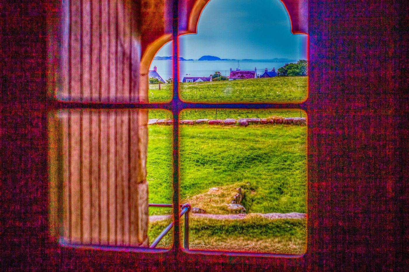 苏格兰圣奥兰教堂(St Oran's Chapel),小教堂大视野_图1-28