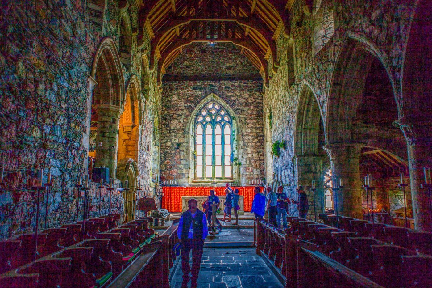 苏格兰圣奥兰教堂(St Oran's Chapel),小教堂大视野_图1-26