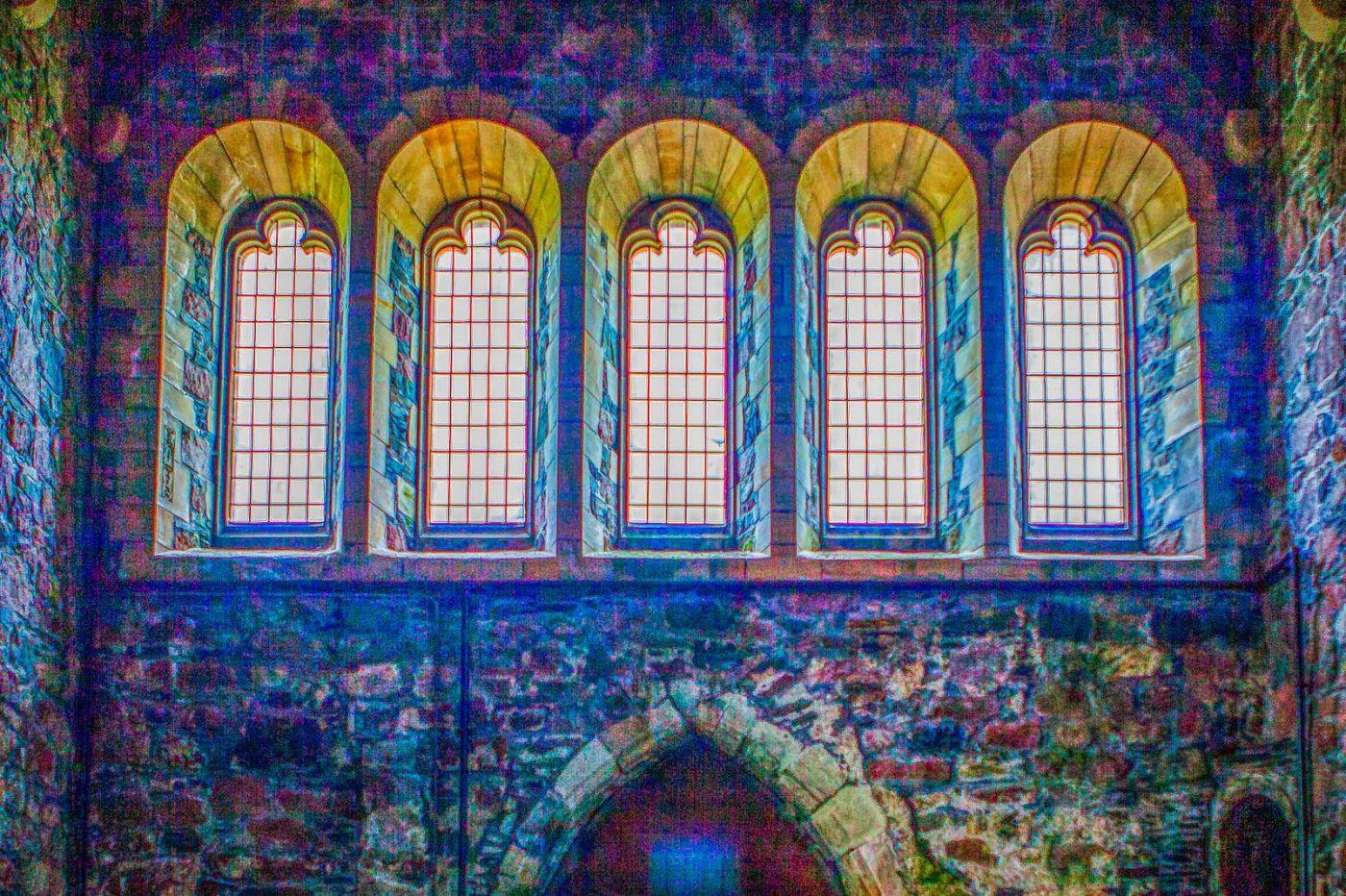 苏格兰圣奥兰教堂(St Oran's Chapel),小教堂大视野_图1-24