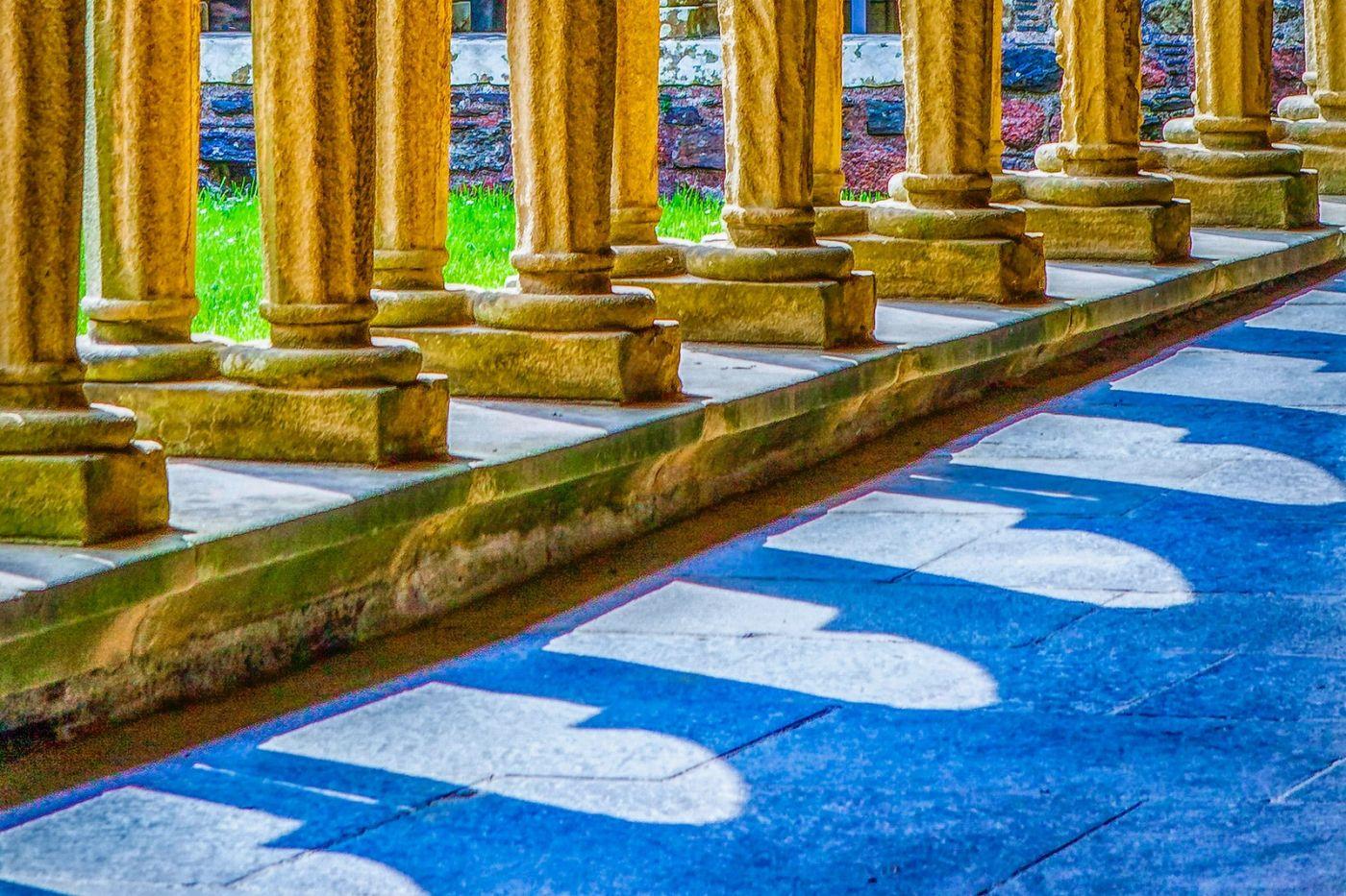 苏格兰圣奥兰教堂(St Oran's Chapel),小教堂大视野_图1-20