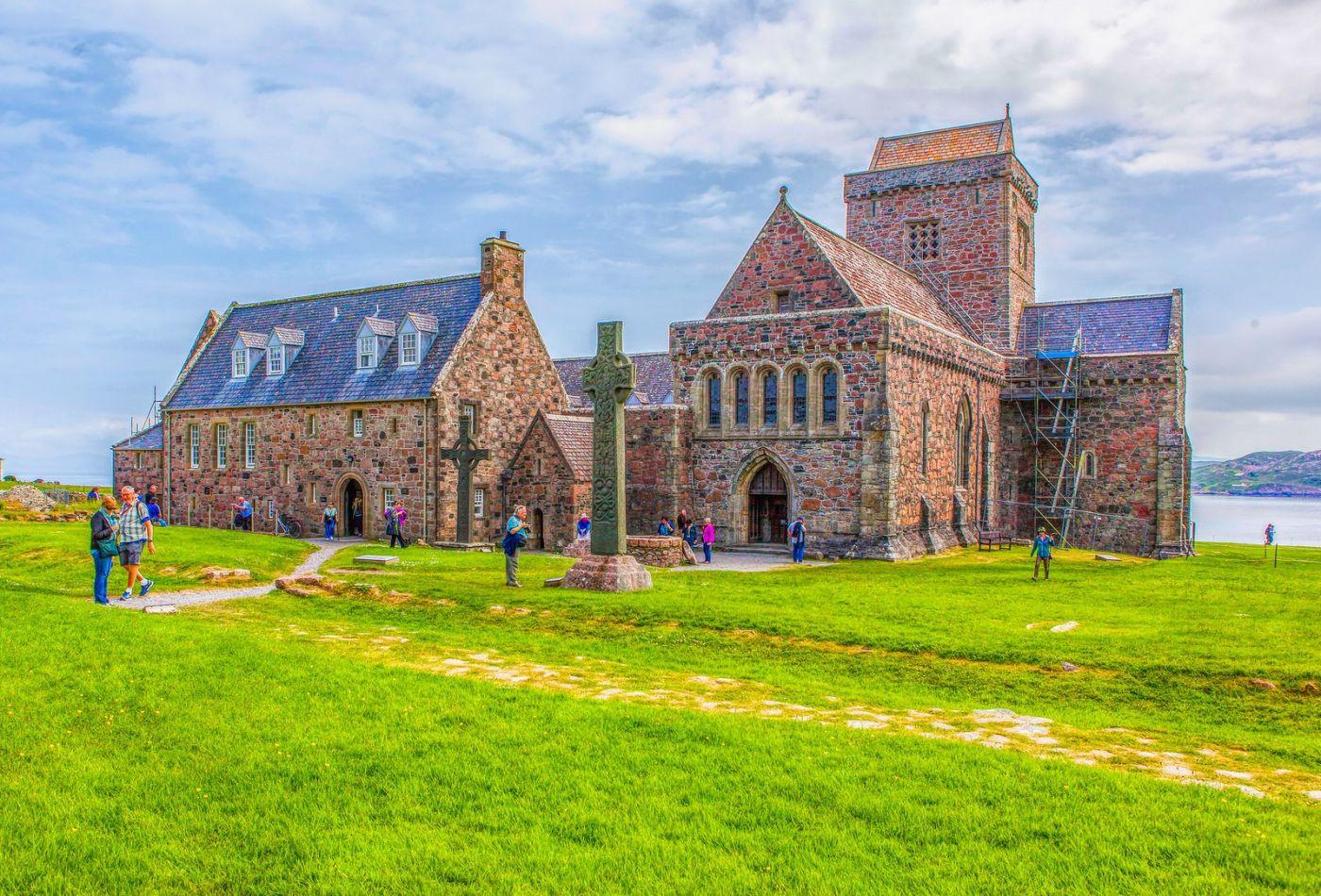 苏格兰圣奥兰教堂(St Oran's Chapel),小教堂大视野_图1-21