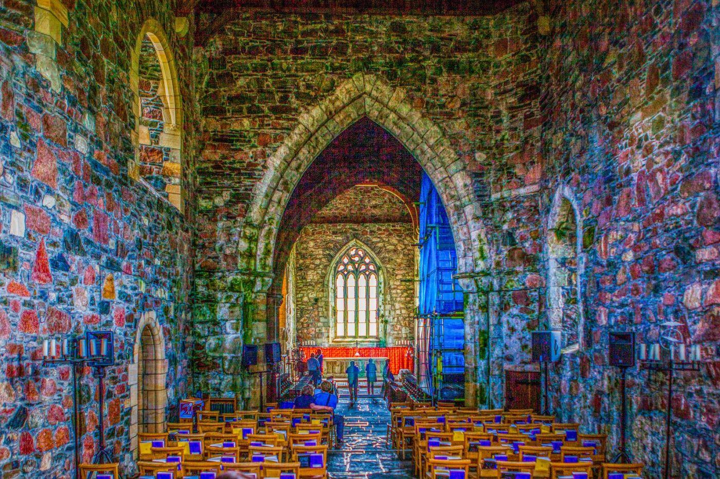 苏格兰圣奥兰教堂(St Oran's Chapel),小教堂大视野_图1-22