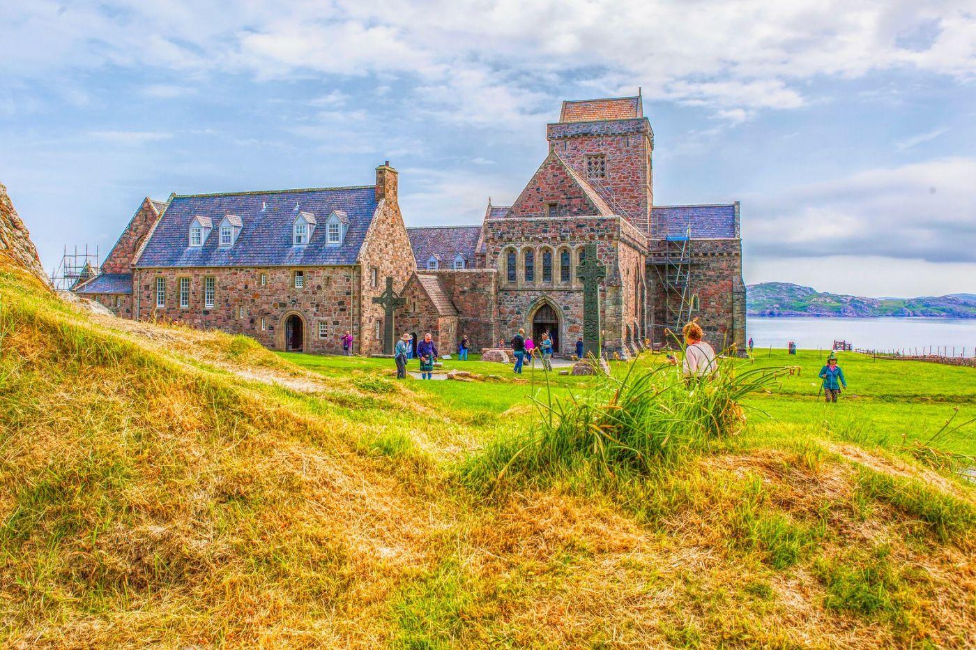 苏格兰圣奥兰教堂(St Oran's Chapel),小教堂大视野_图1-16