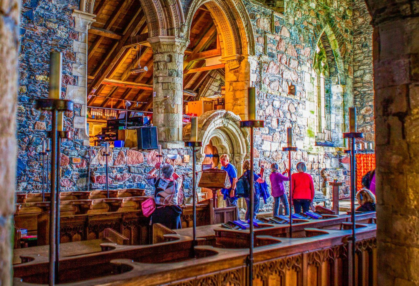 苏格兰圣奥兰教堂(St Oran's Chapel),小教堂大视野_图1-12