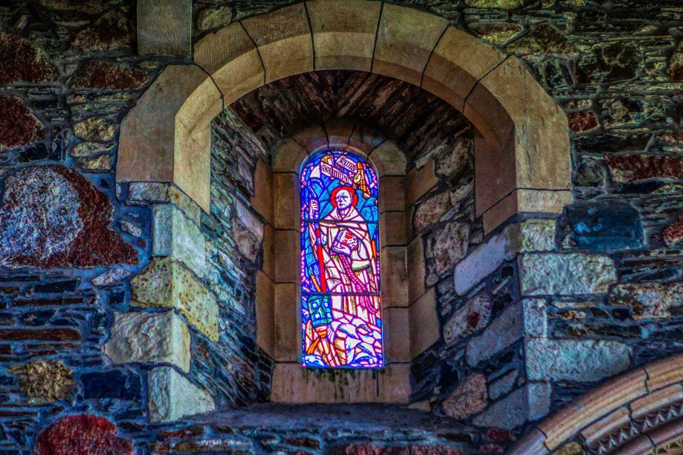 苏格兰圣奥兰教堂(St Oran's Chapel),小教堂大视野_图1-13