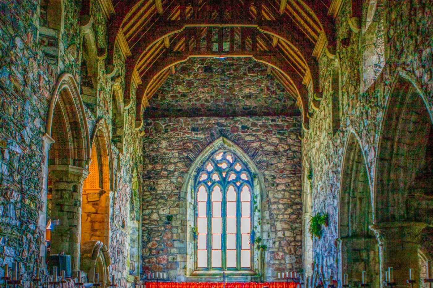 苏格兰圣奥兰教堂(St Oran's Chapel),小教堂大视野_图1-8
