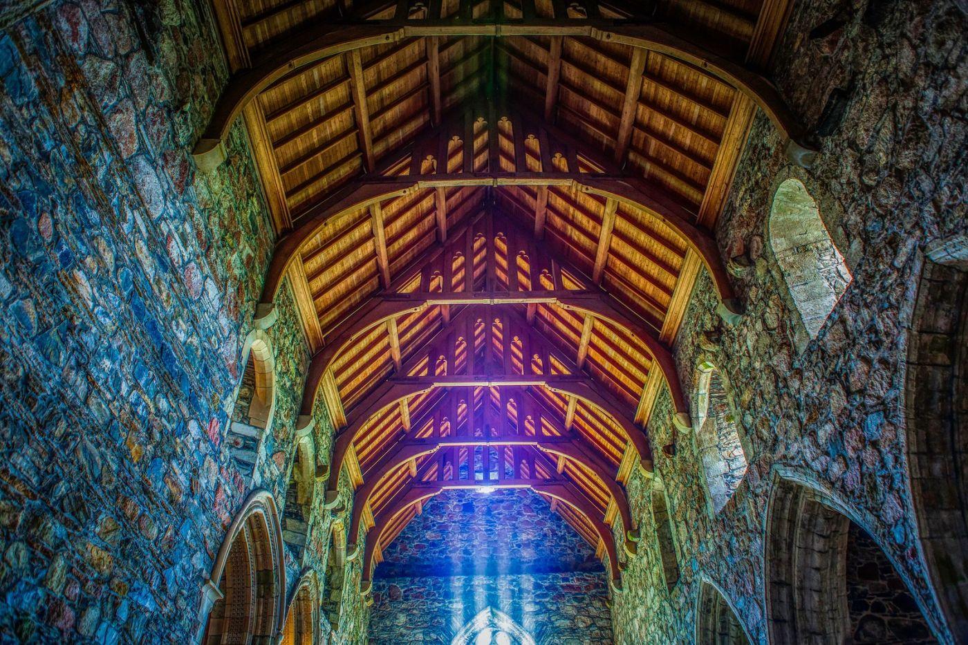 苏格兰圣奥兰教堂(St Oran's Chapel),小教堂大视野_图1-11