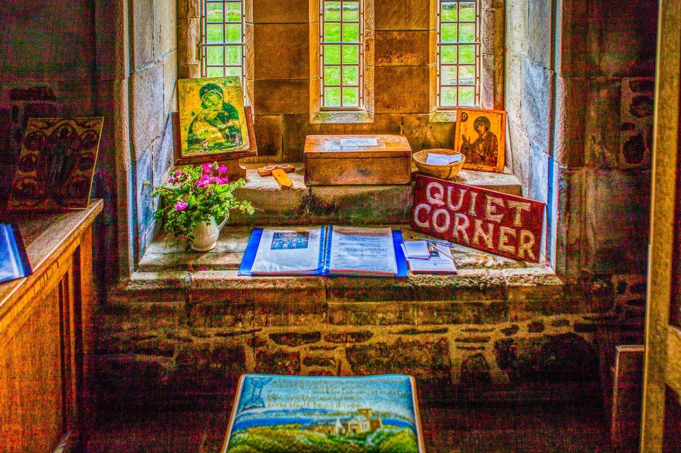 苏格兰圣奥兰教堂(St Oran's Chapel),小教堂大视野_图1-9