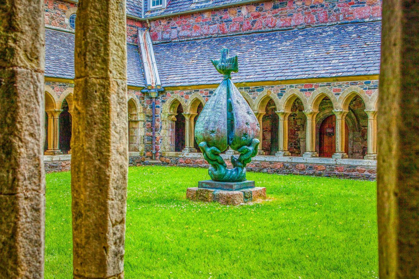 苏格兰圣奥兰教堂(St Oran's Chapel),小教堂大视野_图1-10