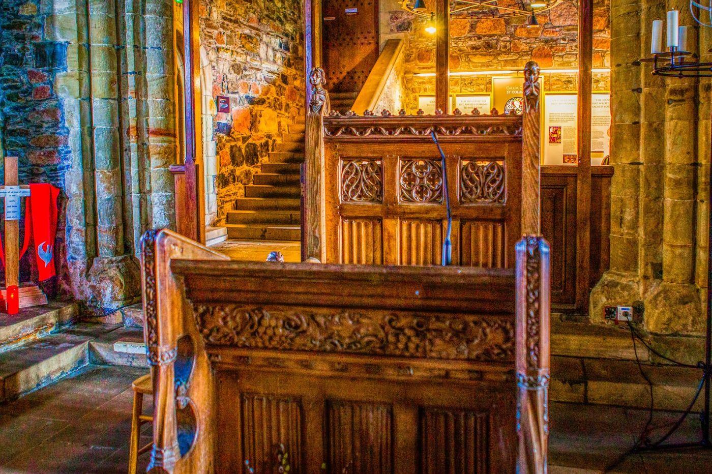 苏格兰圣奥兰教堂(St Oran's Chapel),小教堂大视野_图1-4