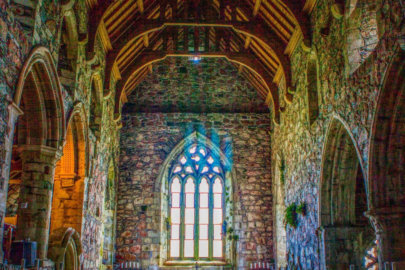 苏格兰圣奥兰教堂(St Oran's Chapel),小教堂大视野_图1-5