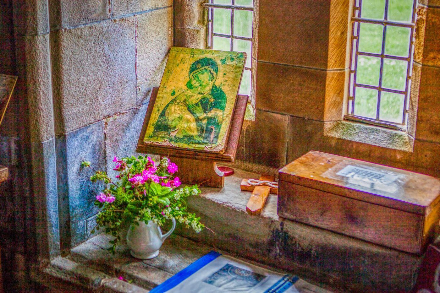 苏格兰圣奥兰教堂(St Oran's Chapel),小教堂大视野_图1-6