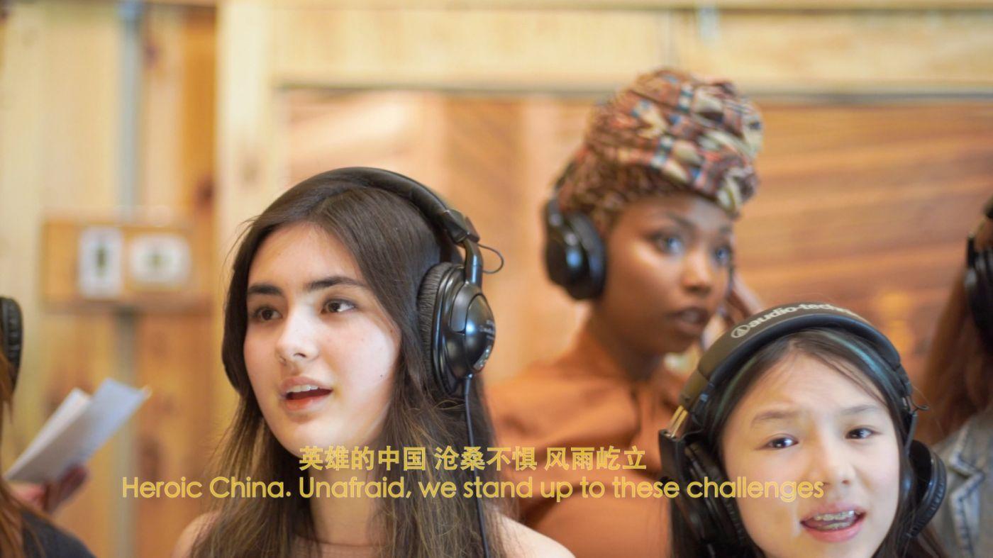 高娓娓:《英雄中国》让亿万人感动到哭泣的抗疫战歌,中美歌手倾情献唱 ... ... ... ... ..._图1-1