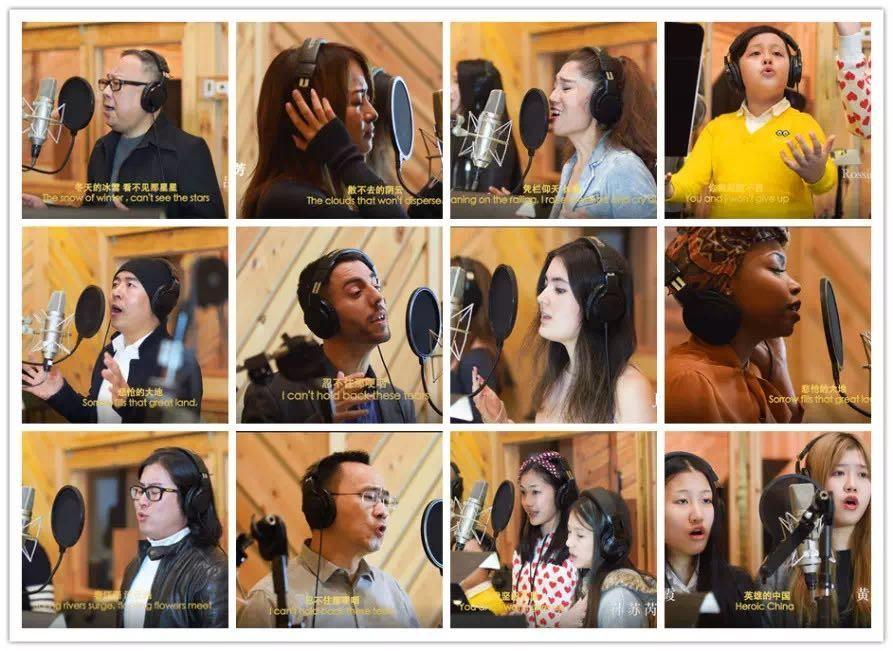 高娓娓:《英雄中国》让亿万人感动到哭泣的抗疫战歌,中美歌手倾情献唱 ... ... ... ... ..._图1-8