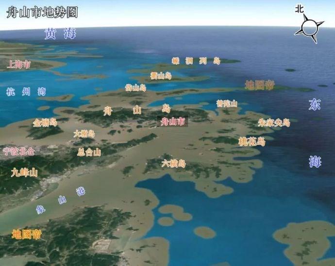 我国最大群岛是浙江舟山群岛,曾有个更大的尚塔尔群岛,今属俄罗斯 ..._图1-2