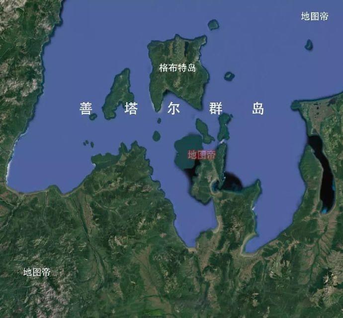 我国最大群岛是浙江舟山群岛,曾有个更大的尚塔尔群岛,今属俄罗斯 ..._图1-6