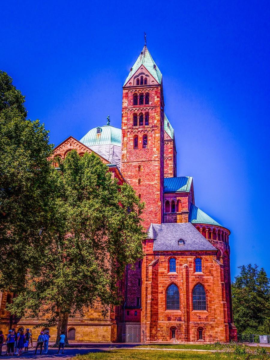 德国施派尔(Speyer),小城漫游_图1-10
