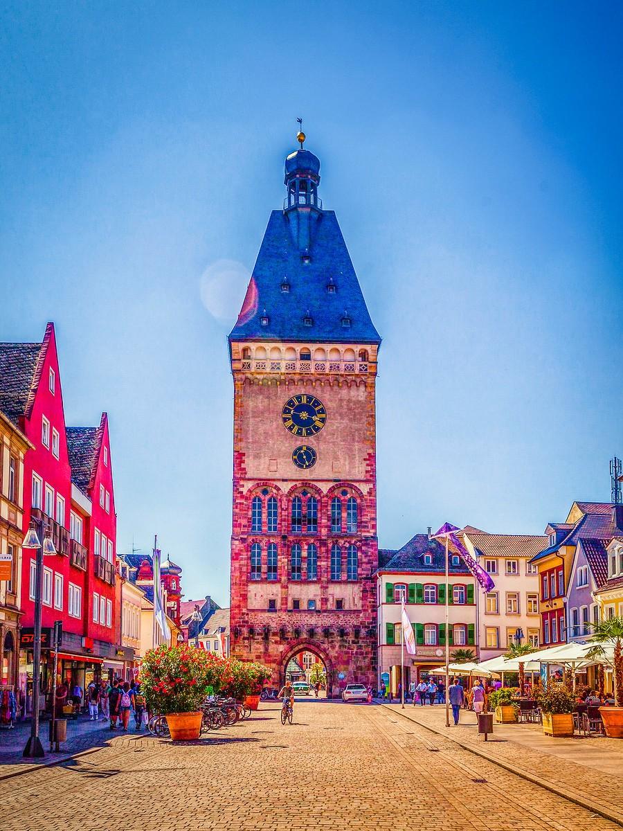 德国施派尔(Speyer),小城漫游_图1-1