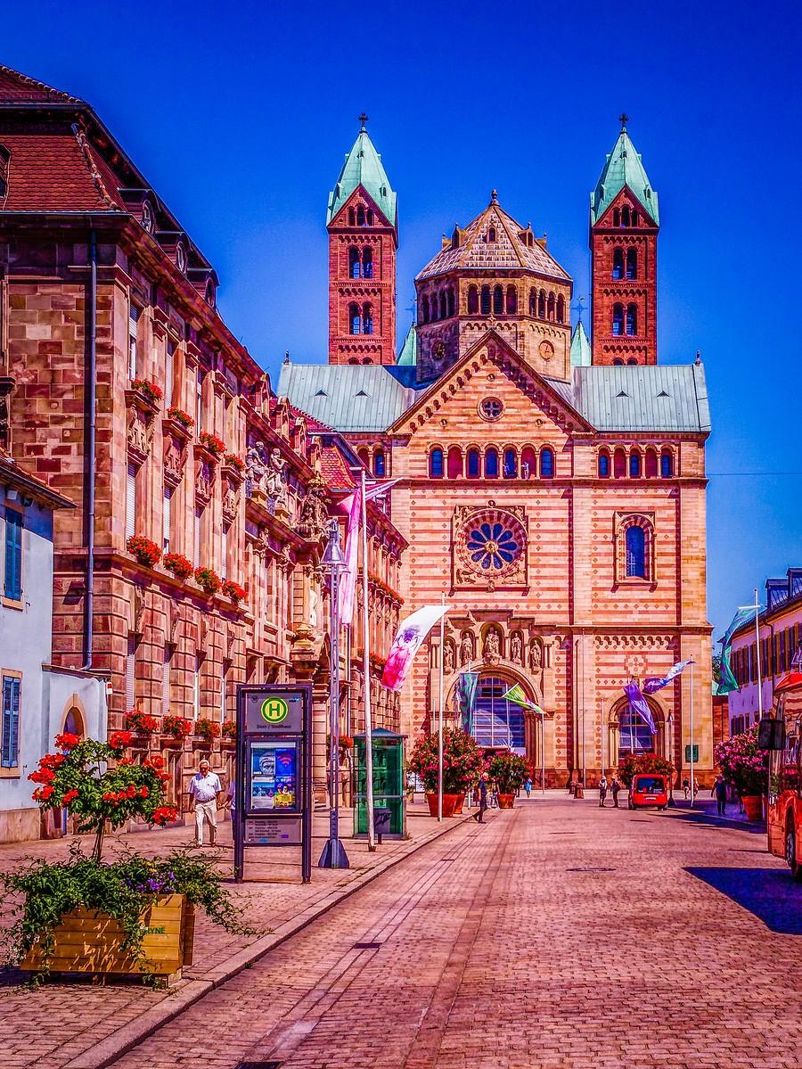 德国施派尔(Speyer),小城漫游_图1-20
