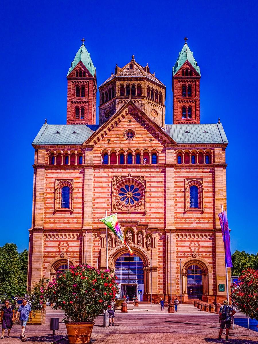 德国施派尔(Speyer),小城漫游_图1-29
