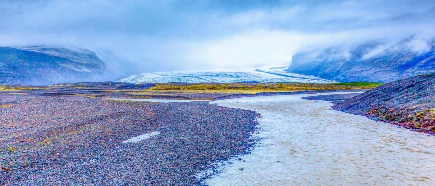 冰島瓦特納冰川(Vatna Glacier),很壯觀_圖1-32