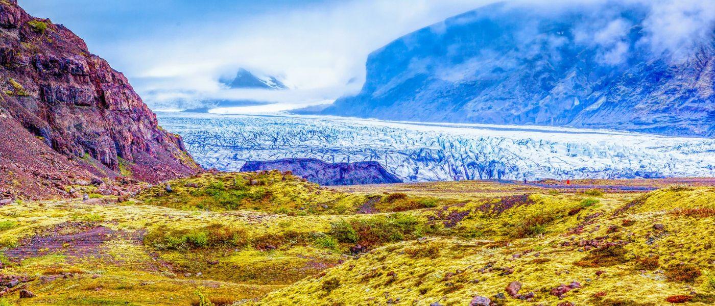 冰島瓦特納冰川(Vatna Glacier),很壯觀_圖1-1