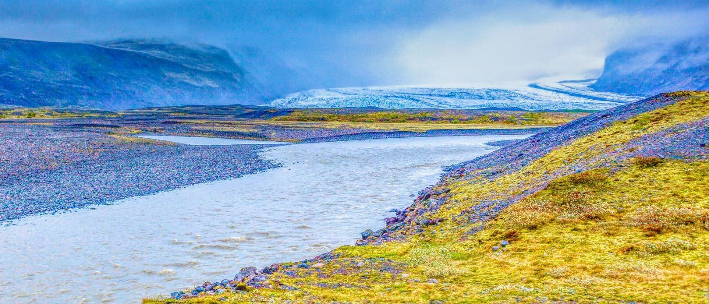 冰島瓦特納冰川(Vatna Glacier),很壯觀_圖1-8