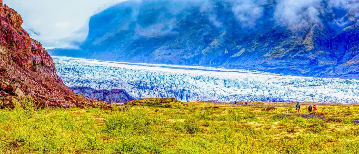 冰島瓦特納冰川(Vatna Glacier),很壯觀_圖1-14
