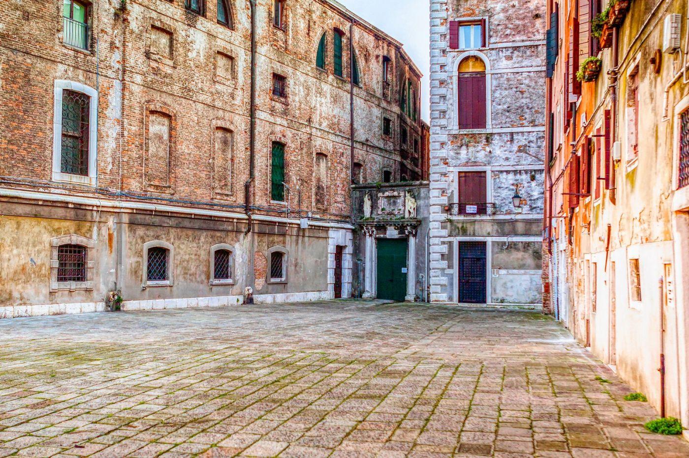 意大利威尼斯,水边建筑_图1-37