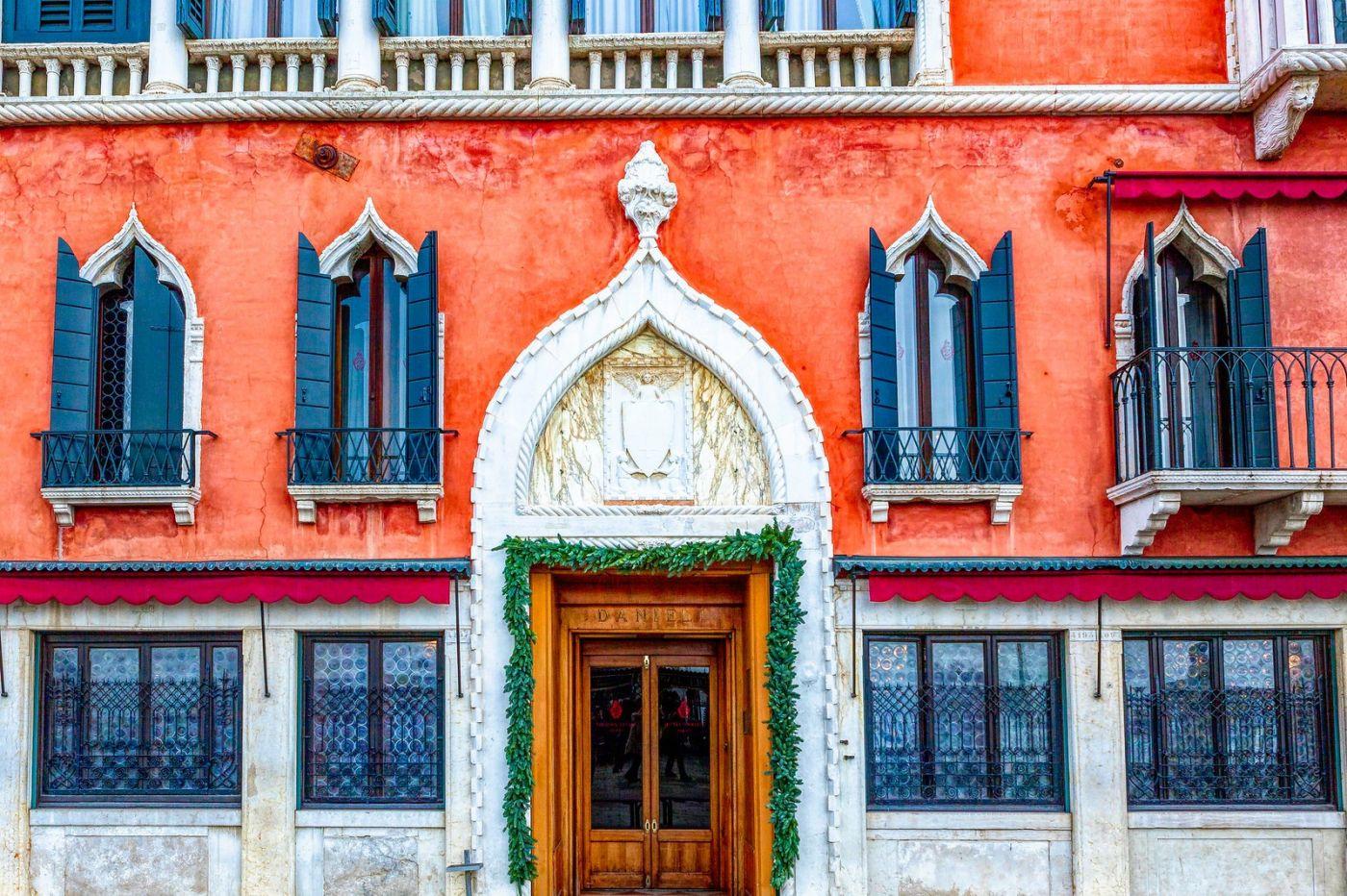 意大利威尼斯,水边建筑_图1-19