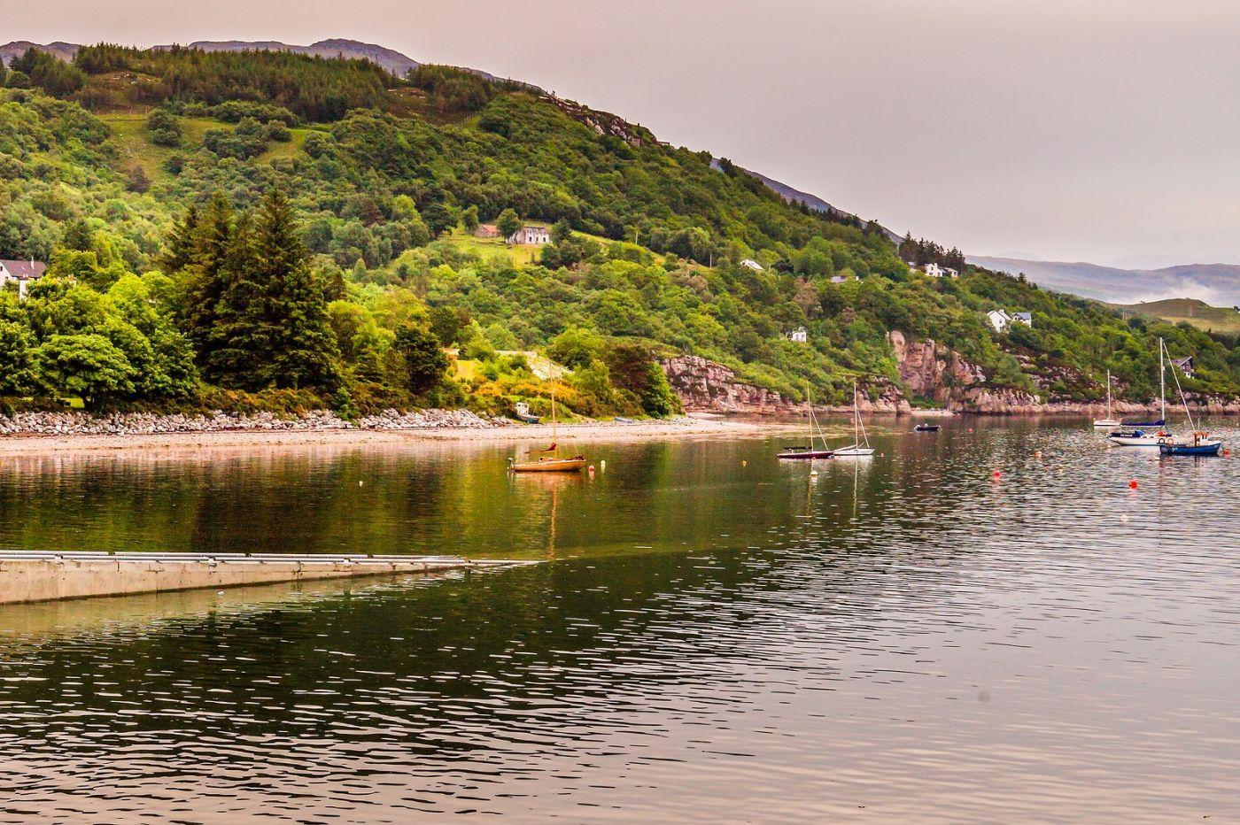苏格兰阿勒浦(Ullapool),岸边散步_图1-20