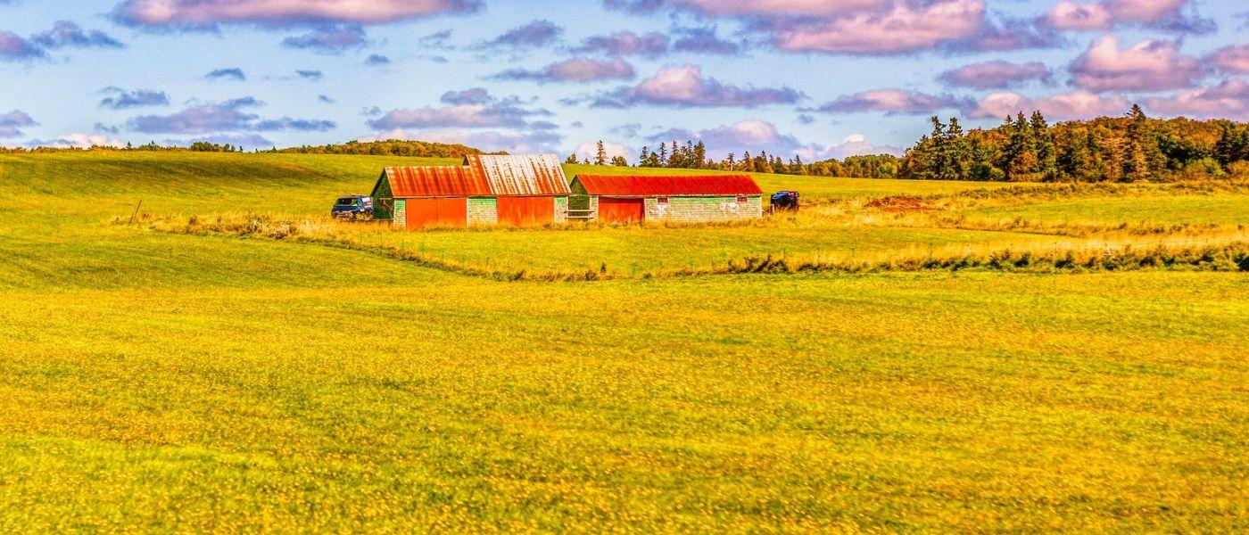 加拿大路途,水边的小红房_图1-38
