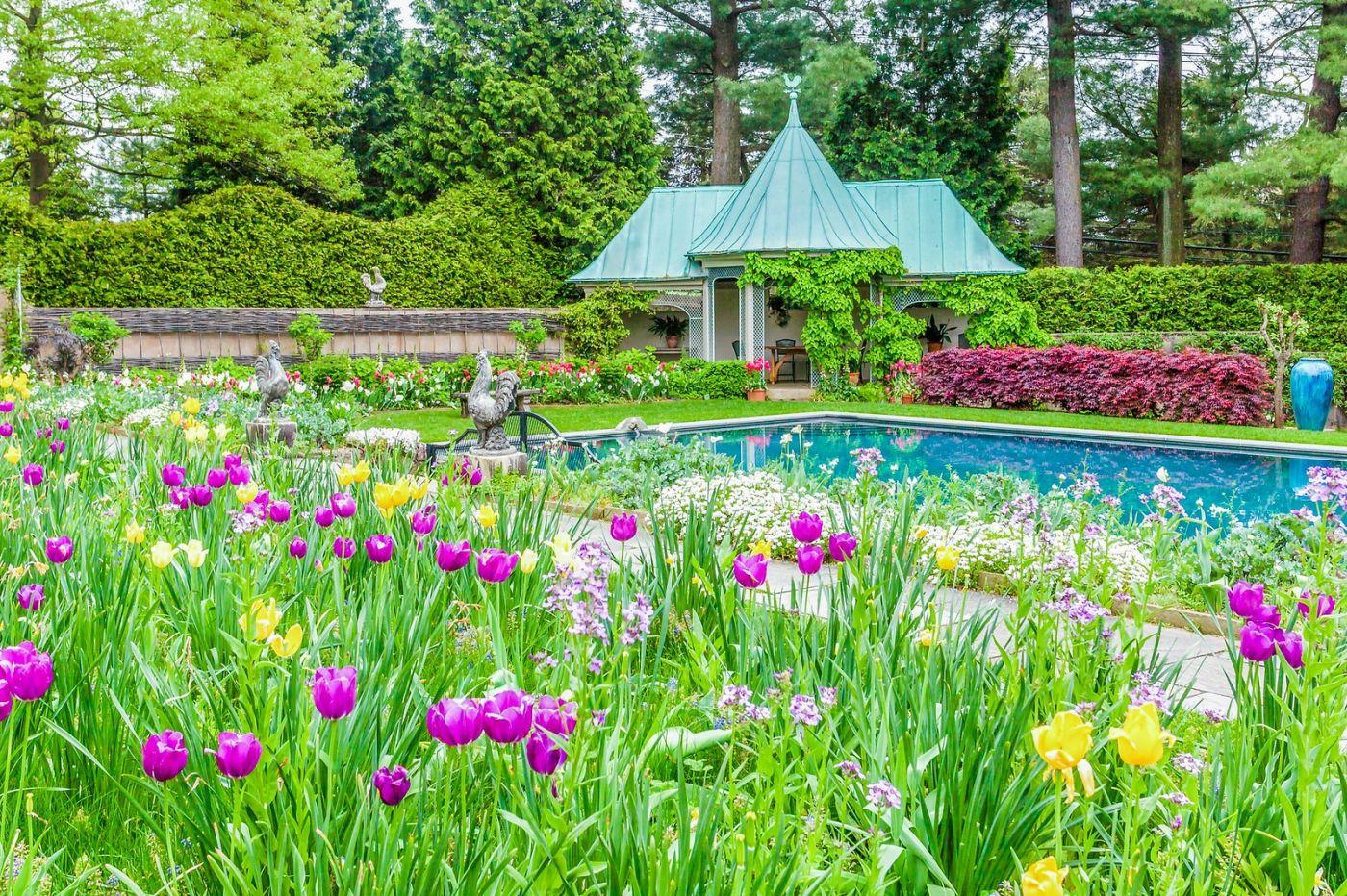 Chanticleer花园,一景一画_图1-9
