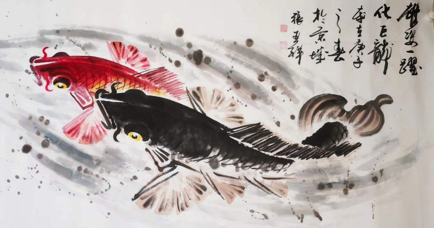 书画家张亚祥老师作品欣赏_图1-2