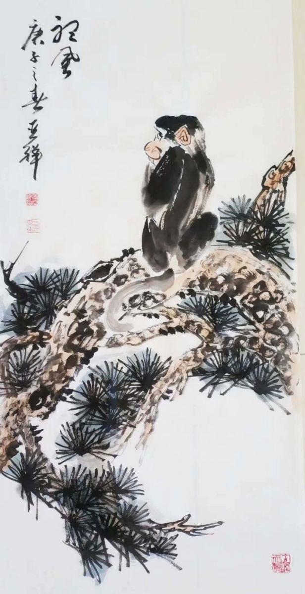 书画家张亚祥老师作品欣赏_图1-3
