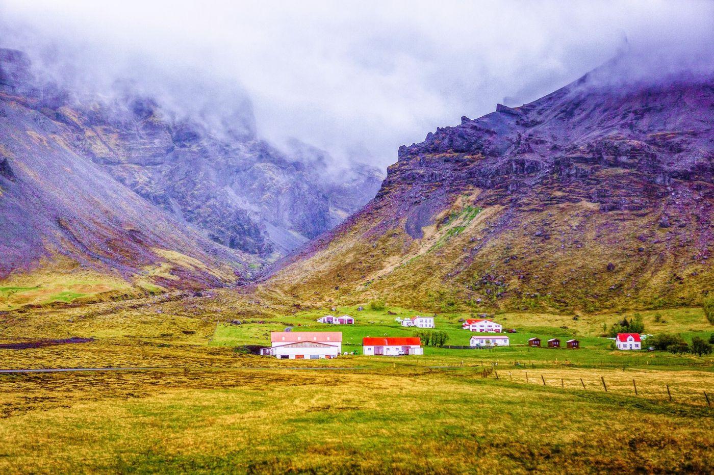 冰岛风采,大山民舍羊群_图1-2