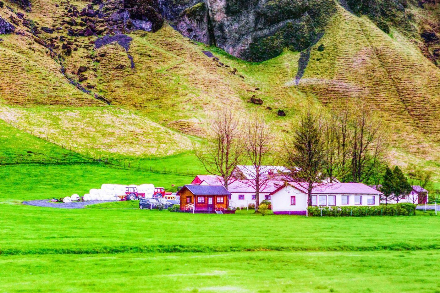 冰岛风采,大山民舍羊群_图1-1