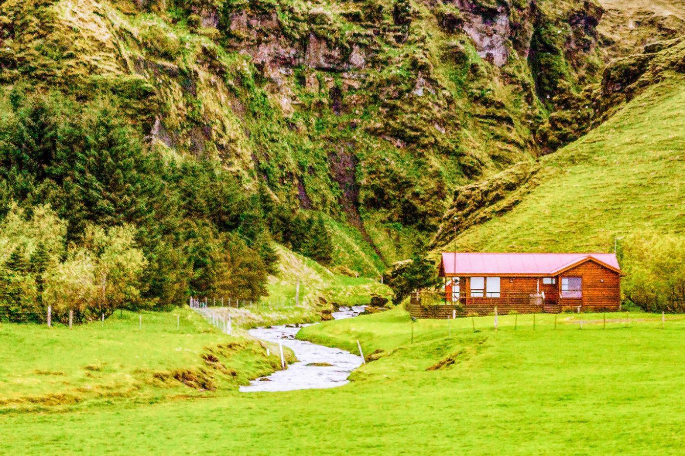 冰岛风采,大山民舍羊群_图1-38